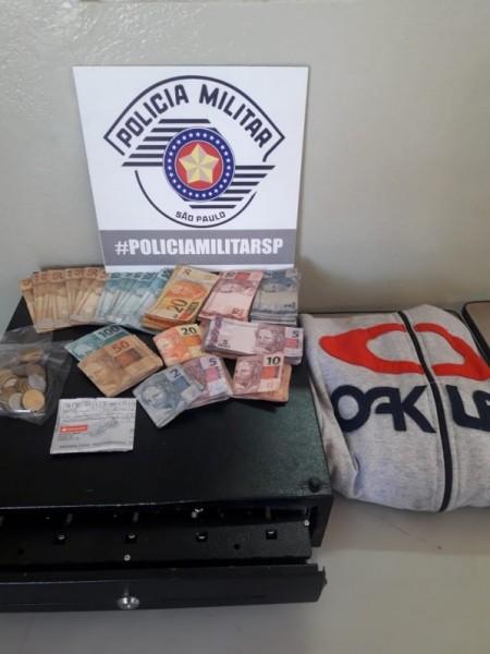 Polícia Militar prende autores de furto em estabelecimento comercial de OC e recupera cerca de R$4 mil