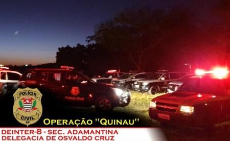 Último envolvido na Operação Quinau se entrega para a Polícia Civil, em Osvaldo Cruz