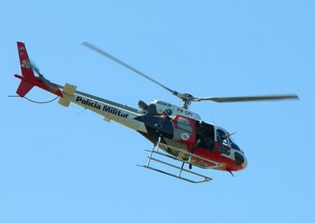 Fuga de presos movimenta viaturas e Helicóptero Águia da Polícia Militar em Pacaembu