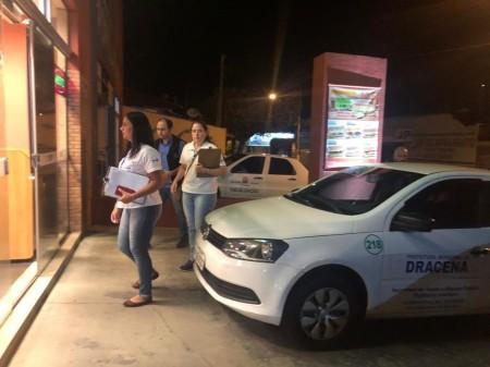 Fiscais multam estabelecimentos flagrados em desrespeito a decreto de enfrentamento do coronavírus em Dracena