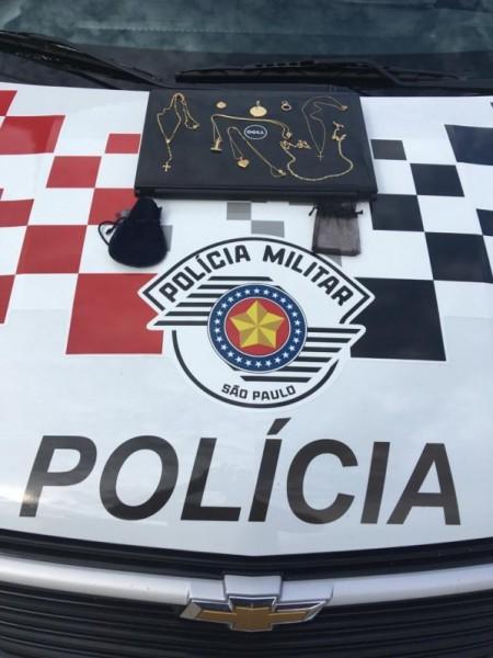 Polícia Militar recupera produtos de furto e registra flagrante de receptação em Osvaldo Cruz