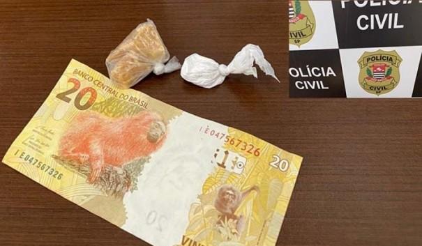 Polícia Civil de Tupã prende acusado de tráfico e apreende drogas e dinheiro