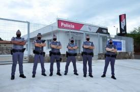 Novo comandante regional visita nova sede da Polícia Militar em Flórida Paulista