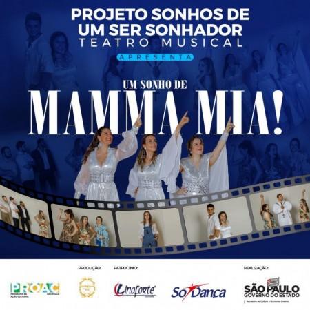 Musical 'Um Sonho de Mamma Mia' encanta o público de Osvaldo Cruz