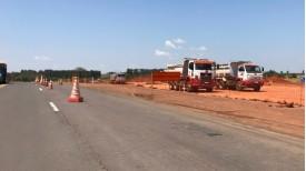 Obras do pedágio: tráfego na SP-294, entre Inúbia e Lucélia, será remanejado para o acostamento