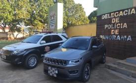 Polícia Civil recupera veículo furtado e prende suspeito por receptação em Panorama