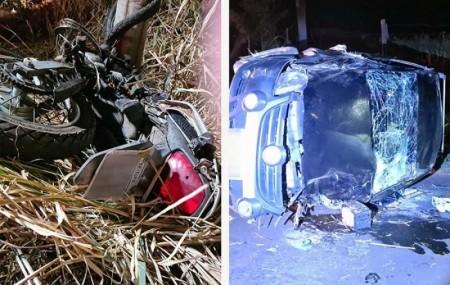 Motorista envolvido em acidente que provocou a morte de motociclista se apresenta a polícia