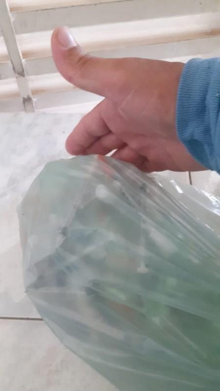 Prefeitura de OC alerta para onda de acidentes envolvendo vidros e coletores de lixo