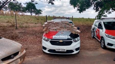 Polícia Militar intercepta em Pacaembu carga de maconha que era transportada de MS com destino a Adamantina