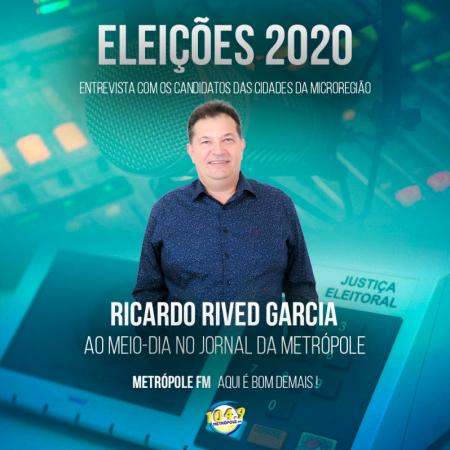 Metrópole FM segue com as entrevistas com candidatos a prefeito de Sagres