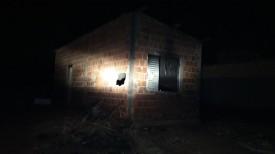 Incêndio deixa homem gravemente ferido em Parapuã