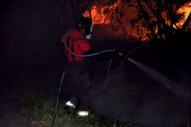 Corpo de Bombeiros de OC atendem várias ocorrências de incêndio às margens das Rodovia da região