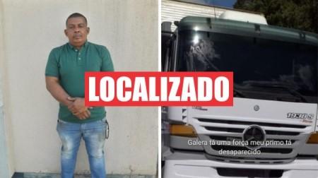 Caminhoneiro é localizado após ser liberado por assaltantes: carga e veículo foram roubados