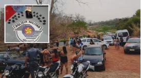 Após denúncia de nova aglomeração na região do Salto Botelho, PM flagra tráfico de drogas no local