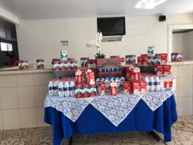 CPP arrecada mais de 300 litros de leite em ação solidária em prol da Santa Casa de Osvaldo Cruz