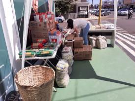 OdontoCompany de OC entrega mais de 600 kg de mantimentos para o Fundo Social