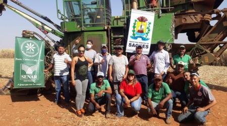 Município de Sagres em Parceria com o SENAR, oferece curso de manutenção e operação de colheitadeira de cana de açúcar