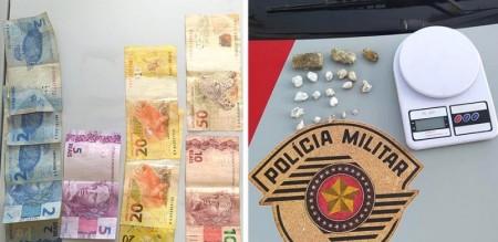Indivíduo é preso acusado de tráfico de drogas em Bastos