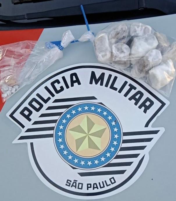 Por meio de denúncia, Polícia Militar registra ocorrências de encontro de entorpecentes na Vila Esperança em OC