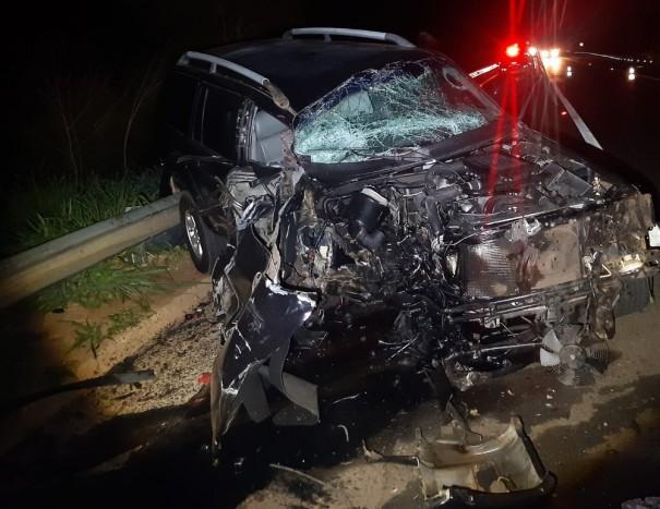 Motorista bêbado e criança ficam feridos em batida frontal na SP-294 em Osvaldo Cruz