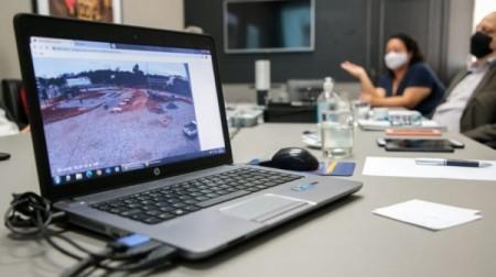 Obras nos municípios realizadas em convênio com o governo estadual serão monitoradas com câmeras