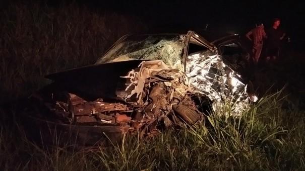 Morador de Parapuã morre em acidente na SP-425 em Rinópolis