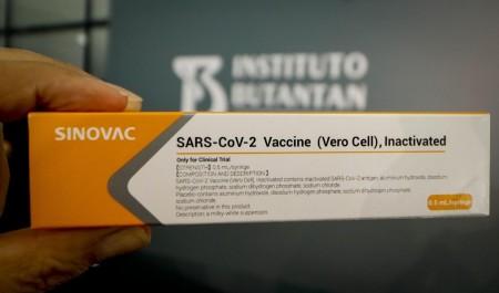 SP vai distribuir 4,5 milhões de doses da Coronavac para o Brasil