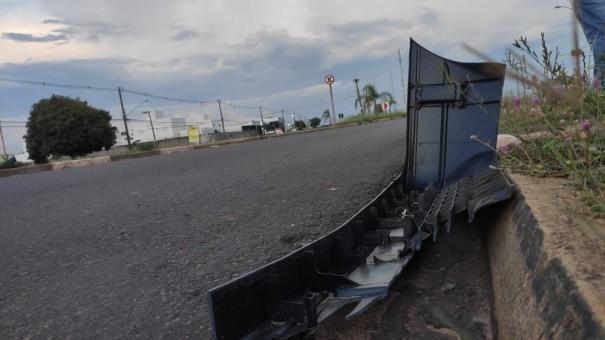 Motociclista perde o controle da direção e morre em acidente de trânsito na rotatória do Estádio Prudentão