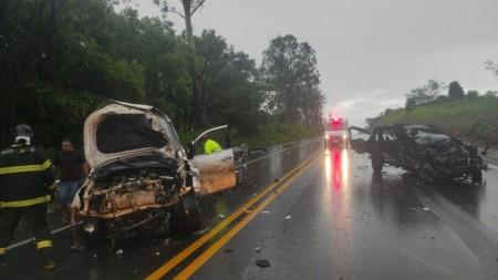 Uma pessoa morre e outras três ficam feridas em acidente de trânsito na Rodovia Assis Chateaubriand