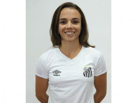 Floridense Rita Bovi renova contrato com a equipe feminina do Santos
