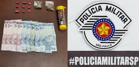 PM de Tupã prende indivíduo e apreende crack e maconha