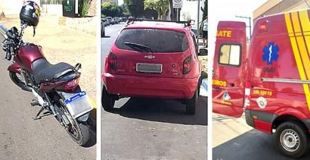 Motorista sofre ferimentos em acidente ocorrido em Tupã