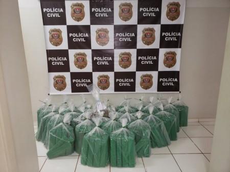 Polícia Civil incinera quase meia tonelada de drogas apreendidas em Iepê