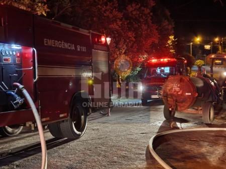 Incêndio em residência é registrado em Parapuã