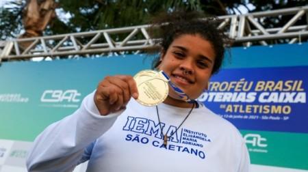 Atleta adamantinense Izabela da Silva vai competir pelo Brasil nas Olimpíadas de Tóquio