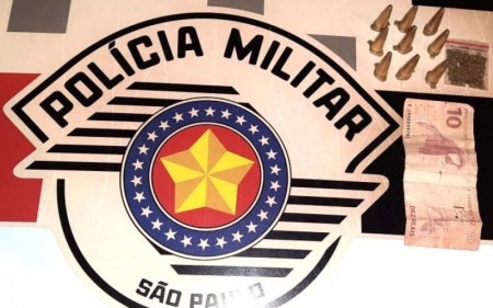 Polícia Militar de Quintana prende indivíduo por tráfico de droga