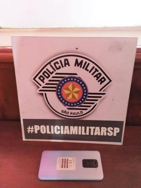PM recupera celular furtado em loja e prende mulher em Tupi Paulista