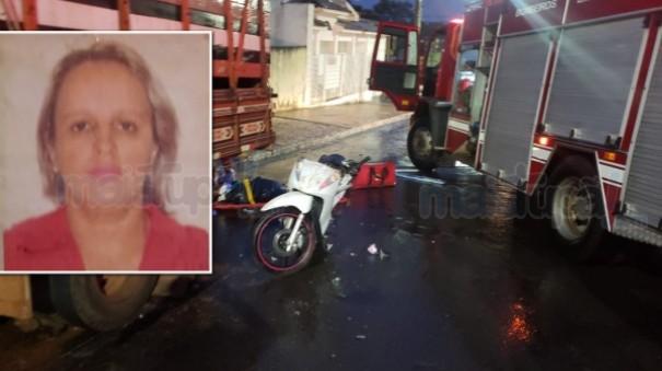 Motociclista bate em caminhão estacionado e morre após o acidente em Tupã