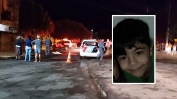 Sem CNH, motorista de caminhão suspeito de ter atropelado e matado menino de 8 anos é preso em Panorama