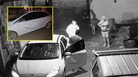 Assaltantes armados rendem motorista e roubam carro da vítima, em Parapuã