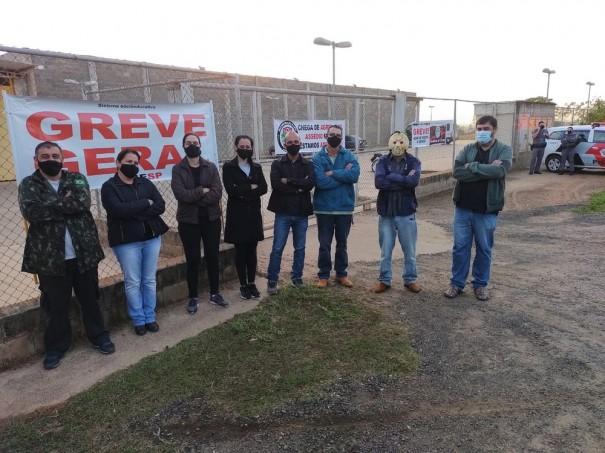 Servidores da Fundação Casa realizam greve parcial em Irapuru e Presidente Bernardes
