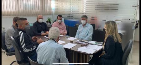 Prefeitura de Adamantina participa de reunião no DER sobre a vicinal Plácido Rocha