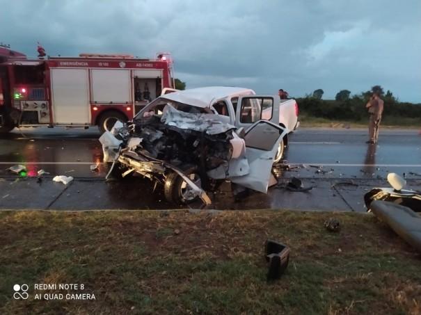 Após 17 dias internado, morre no HR passageiro de caminhonete que bateu de frente com caminhão na SP-294