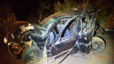 Acidente deixa uma vítima fatal em Tupi Paulista; um dos envolvidos foi preso por dirigir bêbado