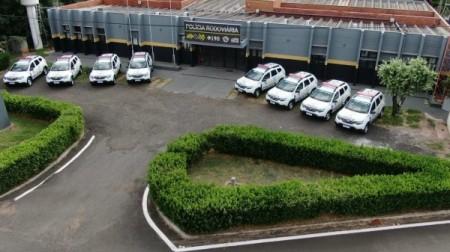 PM Rodoviária da região recebe oito novas viaturas