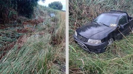 Motorista fica ferido em acidente na vicinal que liga Iacri a Bastos