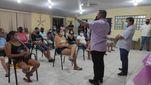 ITESP realizou reunião com moradores da Vila Cavarú sobre a regularização dos imóveis