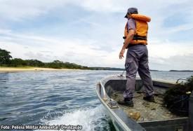 Polícia Militar Ambiental alerta quanto às restrições à pesca durante o período da Piracema