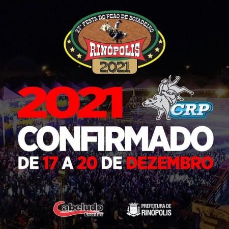 Rinópolis confirma a 27° Festa do Peão com a final do Circuito Rancho Primavera