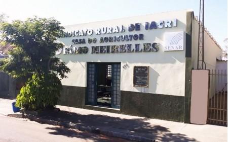 Sindicato Rural de Iacri abre inscrições para três cursos gratuitos
